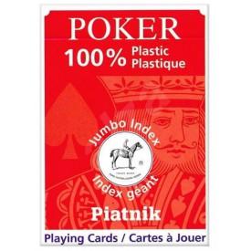 Piatnik Poker Plastic Jumbo Index