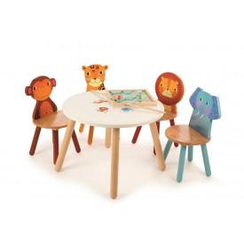 Tidlo Dřevěný stůl Animal - poškozený obal