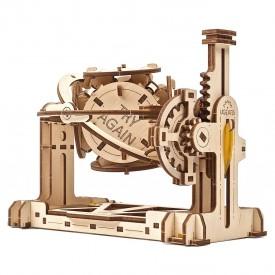 Ugears 3D dřevěné mechanické puzzle STEM náhodný generátor