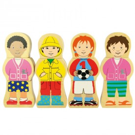 Bigjigs dřevěné puzzle - Děti