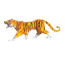 Dřevěné 3D puzzle dřevěná skládačka zvířata - Tygr MC003