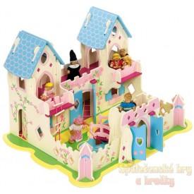 Dřevěný palác pro princezmy