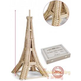 Dřevěná stavebnice Jeujura - Eiffelova věž
