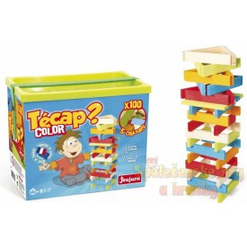 Dřevěná stavebnice Tecap - 100 dílů