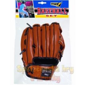 Baseballová rukavice s míčkem