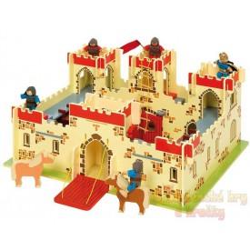 Dřevěný hrad krále Artuše