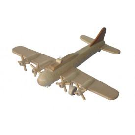 Ceeda Cavity - dřevěné letadlo Bombardér B17 velký