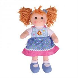 Látková panenka Ellie - 40 cm