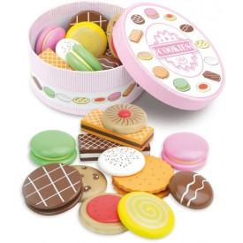 Dřevěné hračky Vilac - Set dřevěných sušenek