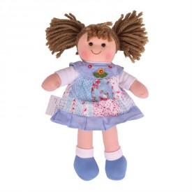 Látková panenka Sarah - 28 cm