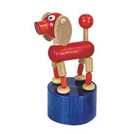 Dřevěné hračky -  dekorace - Pes