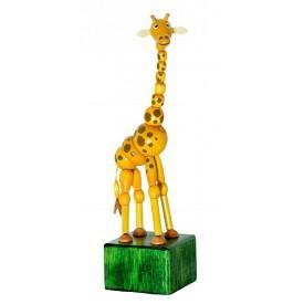 Dřevěné hračky -  dekorace - Žirafa Johana