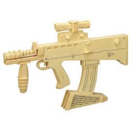 Dřevěné skládačky 3D puzzle - Karabina P111