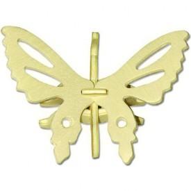 Dřevěná mini skládačka - Motýl