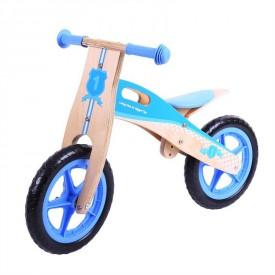 Bigjigs dřevěné odrážedlo Modré kolo