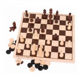 Bigjigs dřevěné šachy