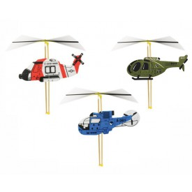 Vilac stavebnice vrtulníku s natahovací vrtulí 1 ks
