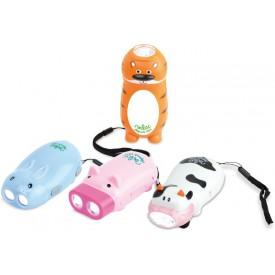 Vilac LED baterka zvířátka 1 ks