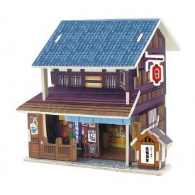 Robotime dřevěná skládačka Japonský obchod