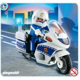 PLAYMOBIL 4262 Hlídka na motorce