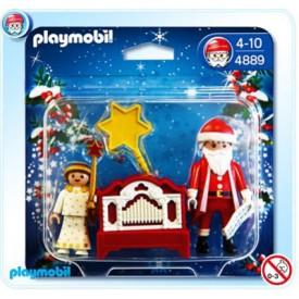 PLAYMOBIL 4889 Santa Claus a flašinet