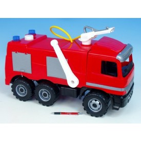 LENA Mercedes auto hasiči plast 60cm