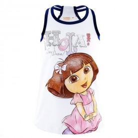 Šaty Dora s třpytivým potiskem bílé 3 roky