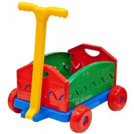 Lena Dětský rozkládací vozík plastový 40x32x20cm