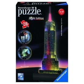 Ravensburger 3D puzzle Empire State Building Noční edice 216 dílků