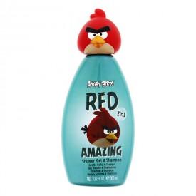 EP Line Angry Birds Šampon + sprchový gel červený 300 ml