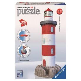 Ravensburger 3D puzzle Maják v příboji 216 dílků