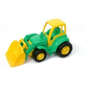 Polesie Traktor Nakladač 48cm zelený