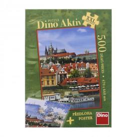 DINO Puzzle Pražský Hrad XXL 47x66 cm 500 dílků