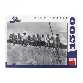DINO Puzzle Dělníci na traverze 84x60 cm 1500 dílků