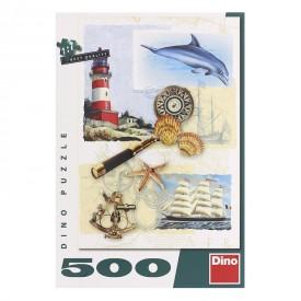 DINO Puzzle 500 dílků Námořní nostalgie