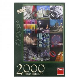 DINO Puzzle 2000 dílků Londýn