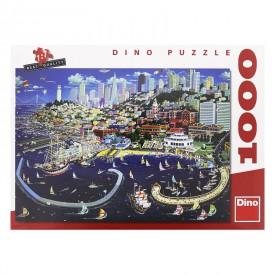 DINO Puzzle 1000 dílků San Francisco