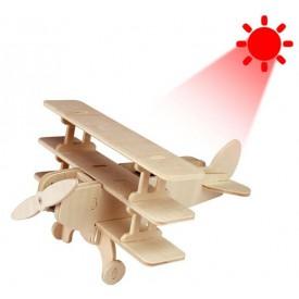 RoboTime 3D Stavebnice Trojplošník Solární P250