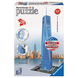 Ravensburger 3D puzzle World Trade Center 216 dílků