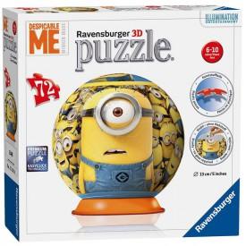 Ravensburger 3D Puzzle Mimoňové 72 dílků
