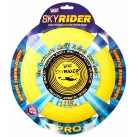 Létající talíř Sky Rider Pro 27 cm - žlutý