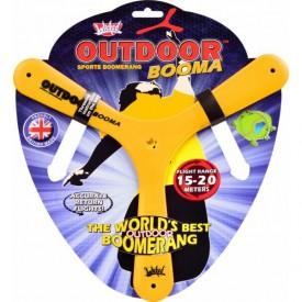 Bumerang Outdoor Booma - žlutý  (15 až 20 metrů)