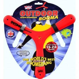 Bumerang Outdoor Booma - červený  (15 až 20 metrů)