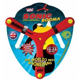 Bumerang Sonic Booma - červený  (15 až 20 metrů)