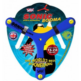 Bumerang Sonic Booma - modrý  (15 až 20 metrů)
