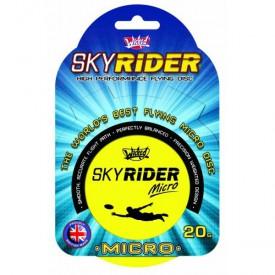 Létající talíř Sky Rider Micro 10 cm - žlutý