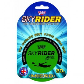 Létající talíř Sky Rider Micro 10 cm - zelený