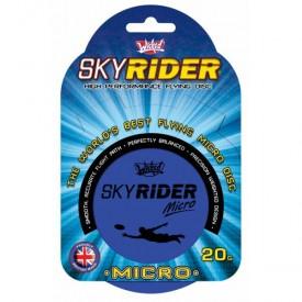 Létající talíř Sky Rider Micro 10 cm - modrý