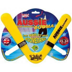 Bumerang Aussie Booma - žlutá (25 až 30 metrů)