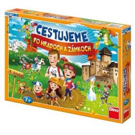 DINO Hra Cestujeme po hradech a zámcích - Slovenská verze